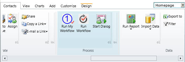 No-Code Workflow Shortcut Ribbon Button