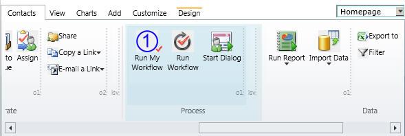 No-Code Workflow Shortcut Ribbon Button