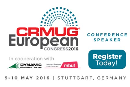 CRMUG European Congress 2016